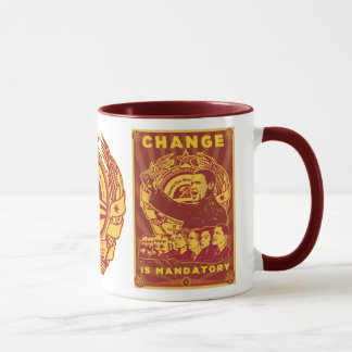 Mug Changez est obligatoire ! Camarade Obama Spoof