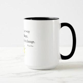 Mug Changez la manière que vous regardez des choses -