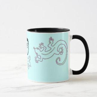 Mug Changez le rose du Gecko 2 de couleur