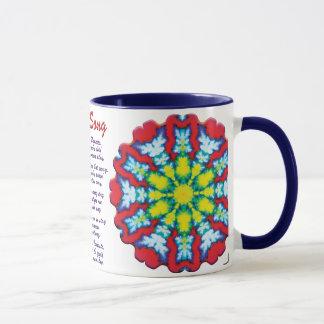 Mug Chanson de yoga de fleur
