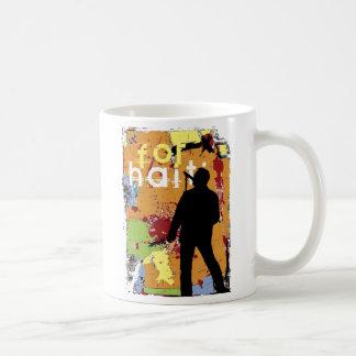 Mug chanson pour le Haïti, espoir pour le Haïti