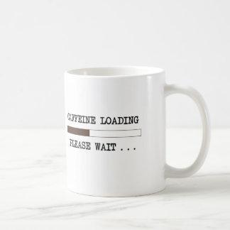 Mug Chargement de caféine