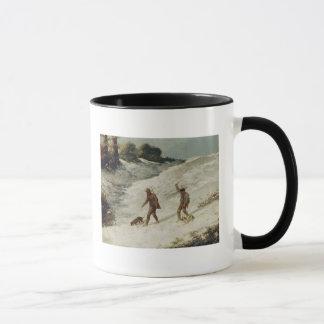 Mug Chasseurs dans la neige ou les braconniers