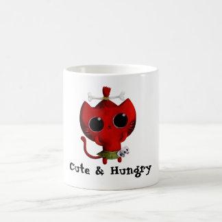 Mug Chat adorable de Halloween de cannibale