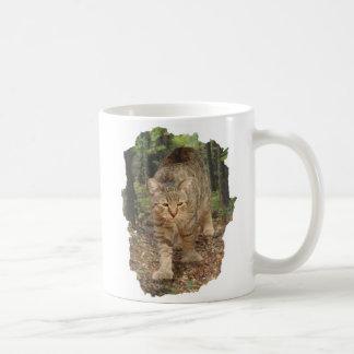Mug Chat de Bob de lutin marchant en bois