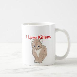 Mug chat, j'aime des chatons - customisés