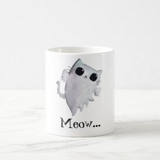 Mug Chat mignon de fantôme de Halloween