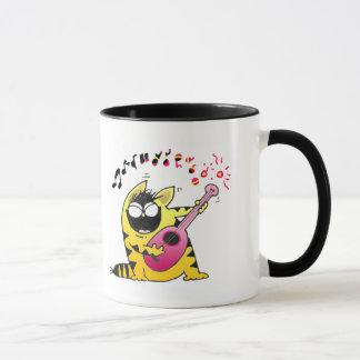 Mug Chat musical des chats | de LOL gros