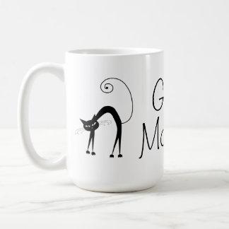 Mug Chat noir de Voxkitty - bonjour