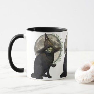 Mug Chat noir magique