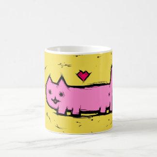 Mug Chat rayé