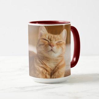 Mug Chat somnolent des images | de Getty