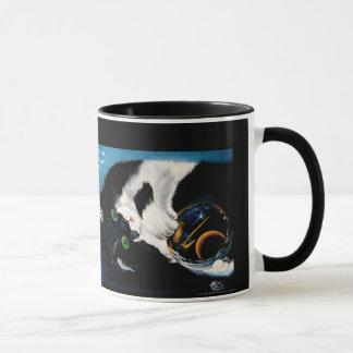 Mug Chat tenant l'univers
