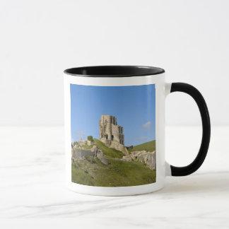 Mug Château de Corfe, Corfe, Dorset, Angleterre