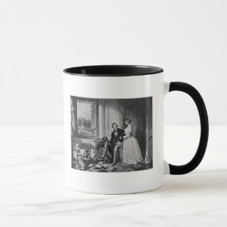 Mug Château de Windsor en temps modernes
