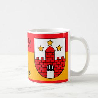 Mug Château médiéval de trois étoiles d'Aizpute,