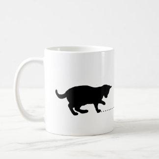 Mug chaton noir