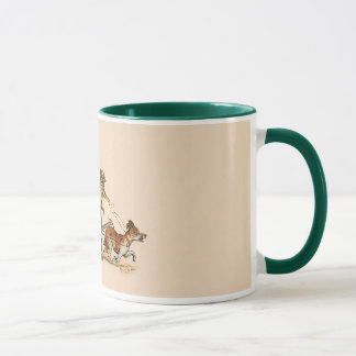 Mug Chats anthropomorphes drôles par Louis Wain