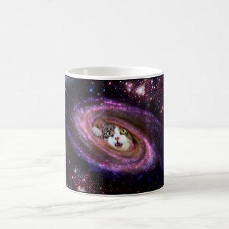 Mug Chats LOL de l'espace de galaxie drôles