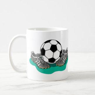 Mug Chaussures de ballon de football