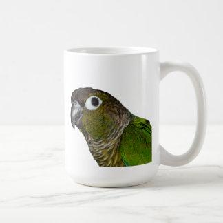 Mug Cheeked vert Conure