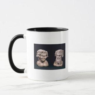 Mug Chef de Bacchus et satyre d'un pilier hermatic