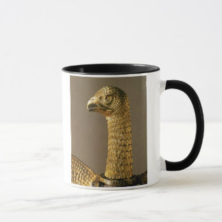 Mug Chef d'un aigle, détail d'ornamenta du 12ème