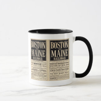 Mug Chemin de fer de Boston et du Maine