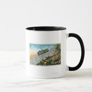 Mug Chemin de fer de dent de Mt Washington, l'échelle