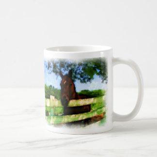 Mug Cheval bonjour