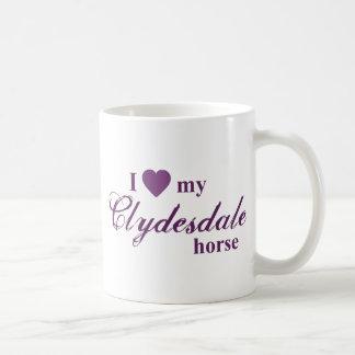 Mug Cheval de Clydesdale