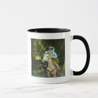 Mug Cheval d'équitation par l'eau