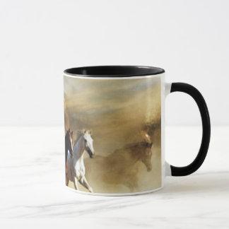 Mug Chevaux courants