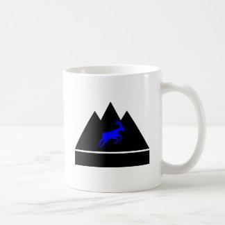 Mug Chèvre dans une montagne