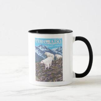 Mug Chèvre de montagne blanche FamilyColorado