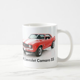 Mug Chevrolet Camaro 1969 solides solubles