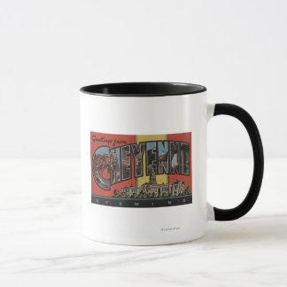 Mug Cheyenne, Wyoming - grandes scènes de lettre