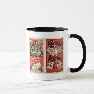Mug Chicago et chemin de fer d'Alton