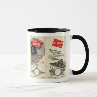 Mug Chicago Milwaukee et chemin de fer de St Paul