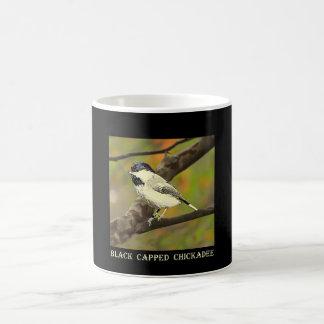 Mug Chickadee couvert par noir (le Maine et le