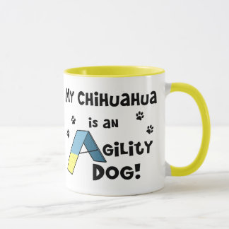 Mug Chien d'agilité de chiwawa