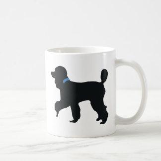 Mug chien de caniche