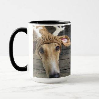 Mug Chien de cerfs communs - chien mignon - whippet
