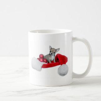Mug Chien de chiwawa de Noël