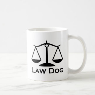 Mug Chien de loi