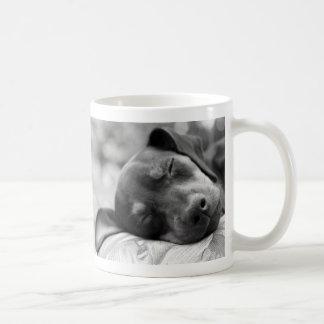 Mug Chien de Pinscher miniature de sommeil