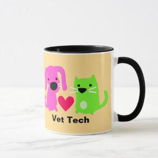 Mug Chien de technologie de vétérinaire et chat et