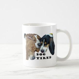 Mug Chien fatigué