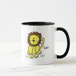 Mug Chiffre T-shirts et cadeaux de bâton de lion