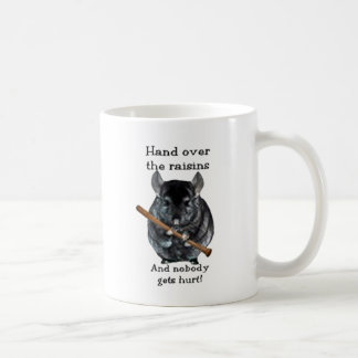 Mug Chinchilla mignon de moyen de raisin sec
